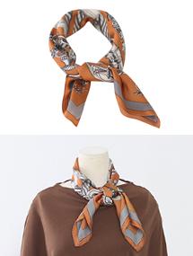 핑크컬러추가!saint scarf실크같은부드러움중쁘띠스카프( 5 colors )